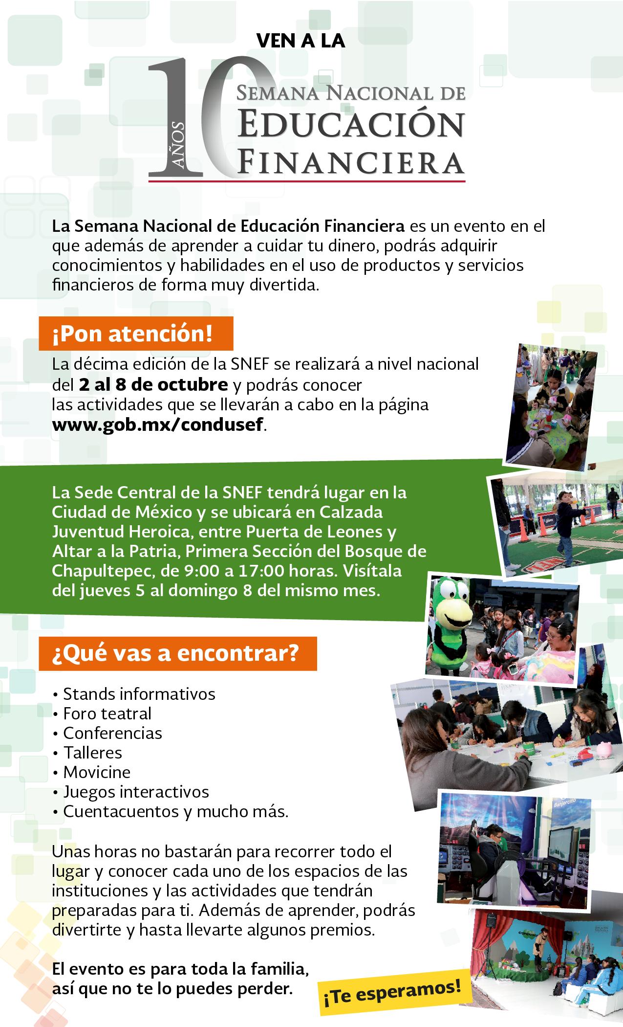 Semana Nacional de Educación Financiera