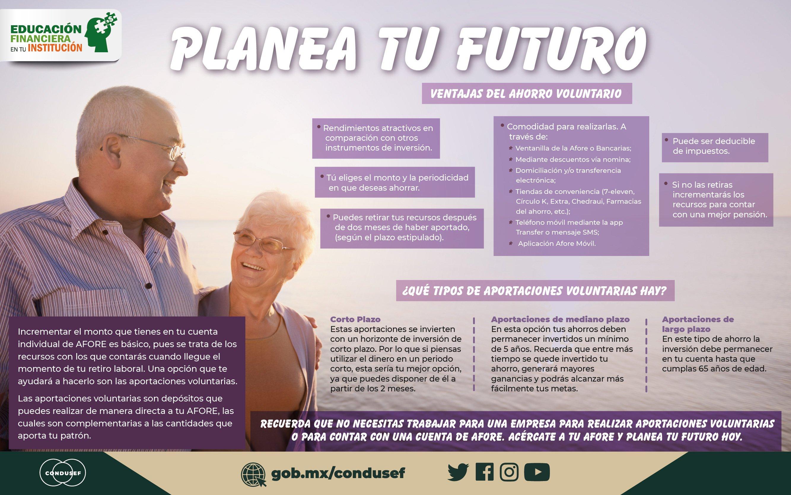 Planea tu futuro