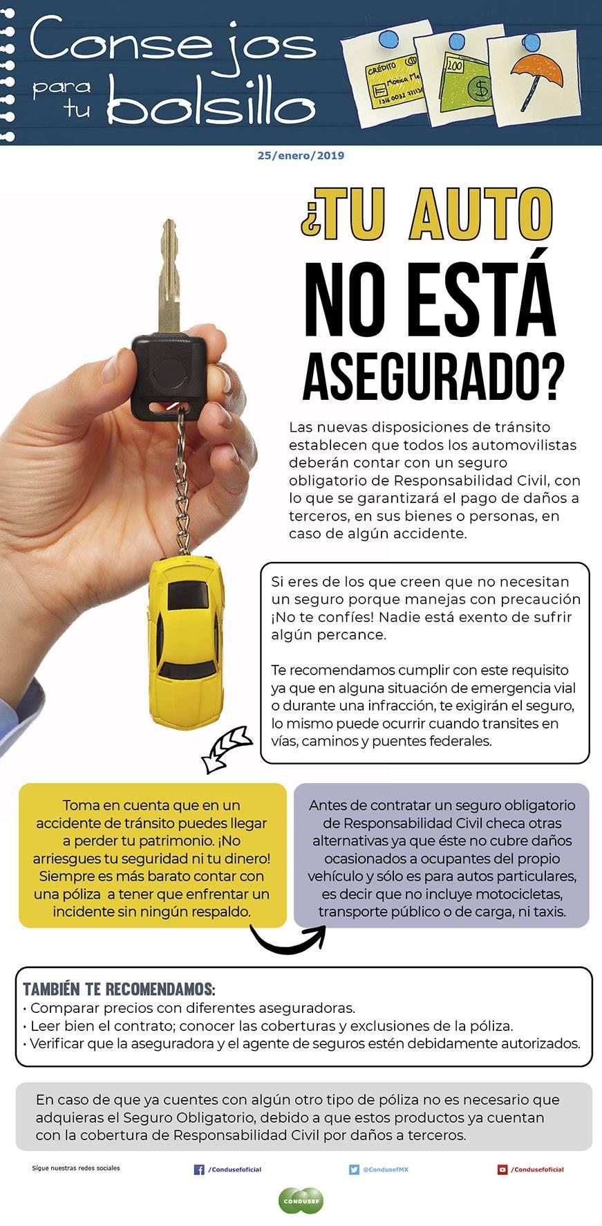 ¿Tu auto no está asegurado?