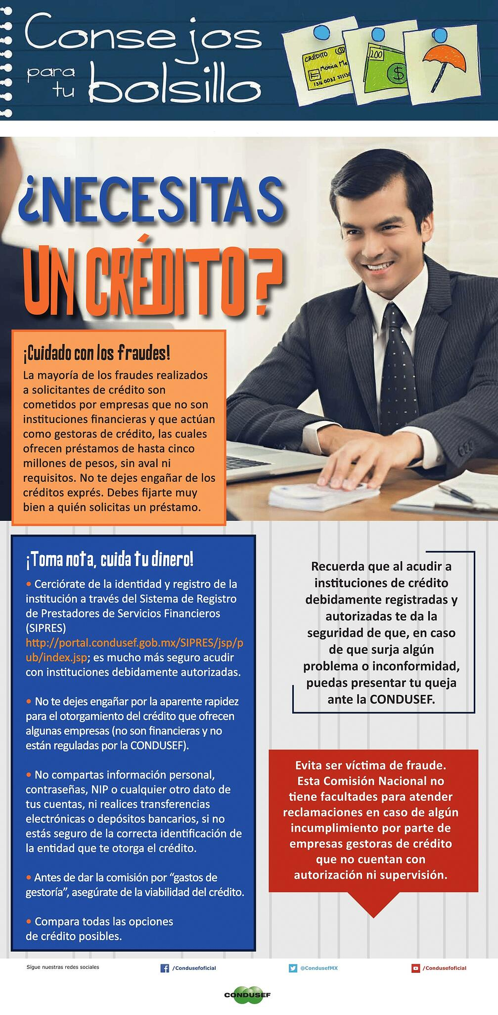 ¿Necesitas un crédito?