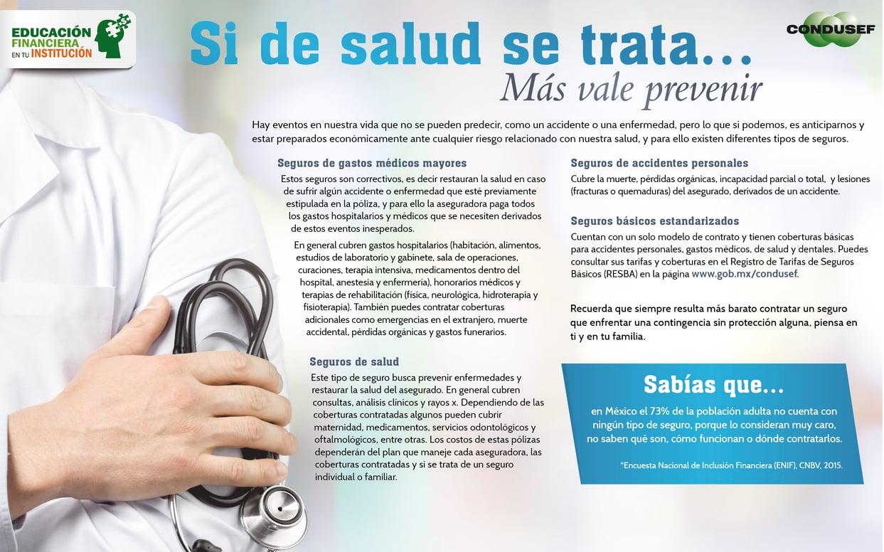 Si de salud se trata mas vale prevenir