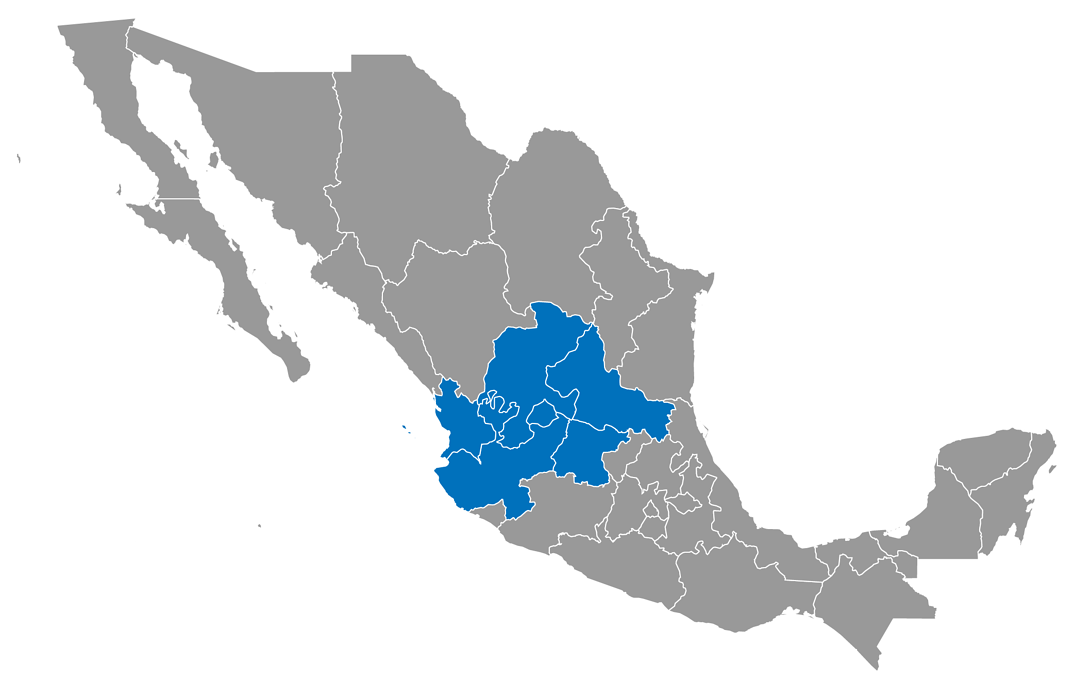 Mapa_Región Occidente