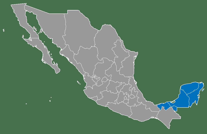 Mapa_Región Peninsula