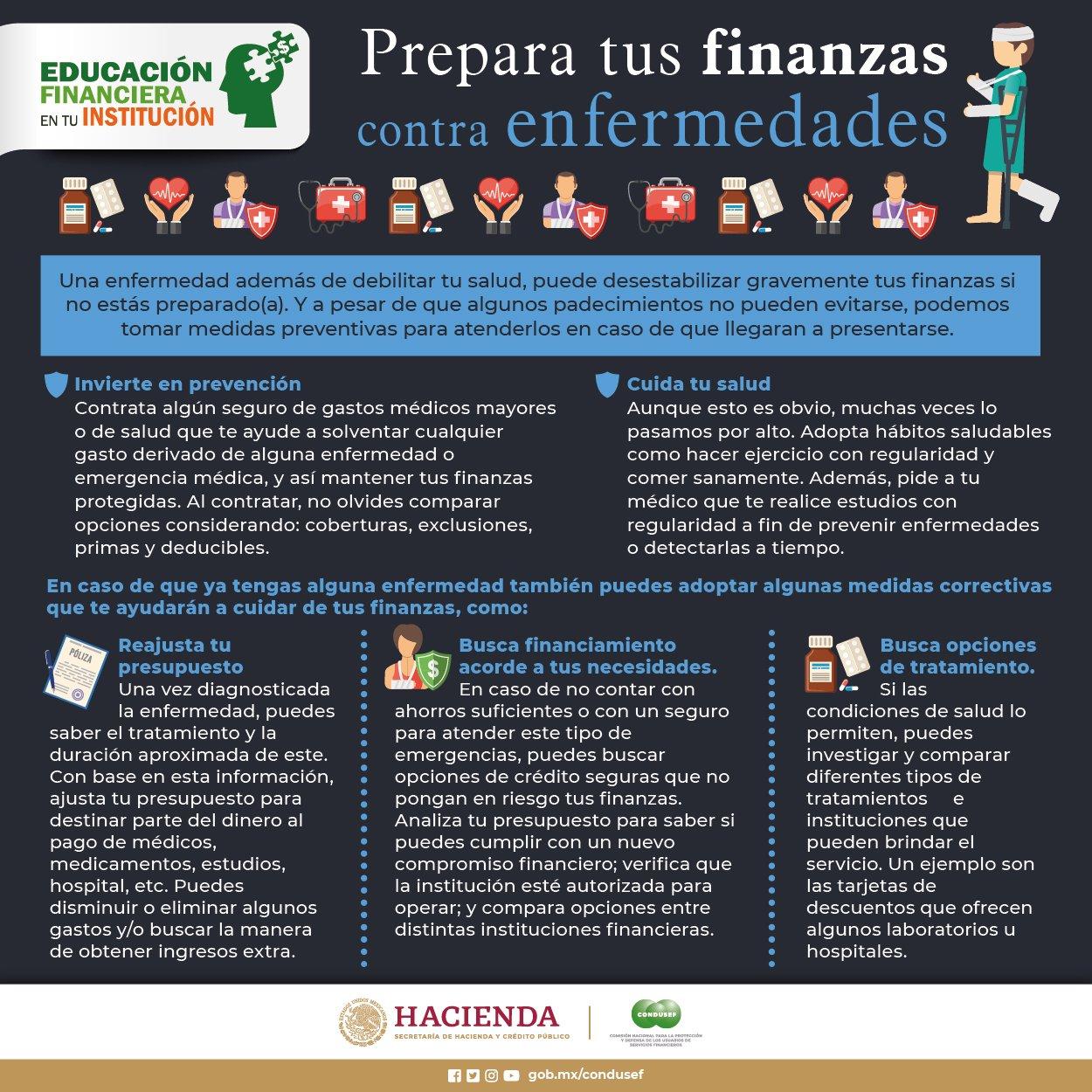 Prepara tus finanzas
