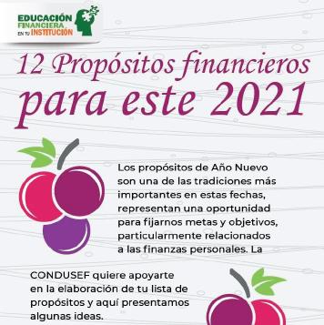 12 Propósitos financieros para año nuevo