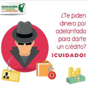 ¿Te piden dinero por adelantado para darte un crédito?