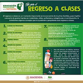 Tips para el regreso a clases