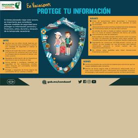 En vacaciones protege tu informacio?n