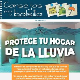 Protege tu hogar de la lluvia