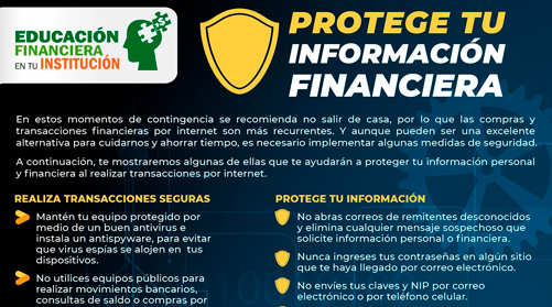 Protege tu informacio?n financiera
